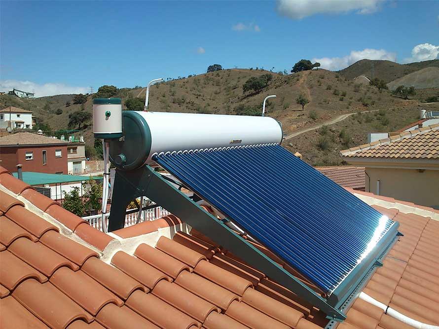 Resultado de imagen de termosifón solar